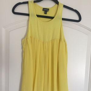 Women's Bebe Yellow Blouse - Small
